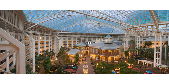 The Gaylord Opryland Resort & Convention Center in Nashville, Tenn.