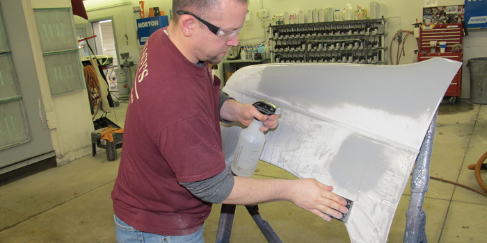 Proper panel prep can resolve many of the issues surrounding body filler application.