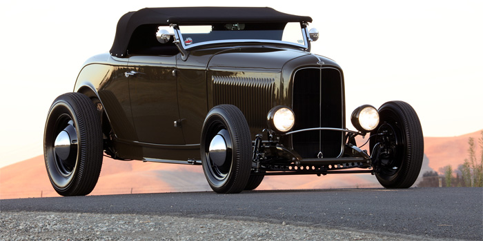 Hollenbeck's AMBR-winning 1932 Ford Roadster.