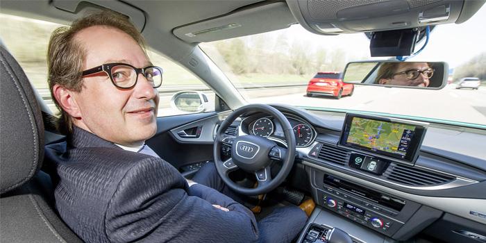 German Transport Minister Alexander Dobrindt. (Photo: Audi)