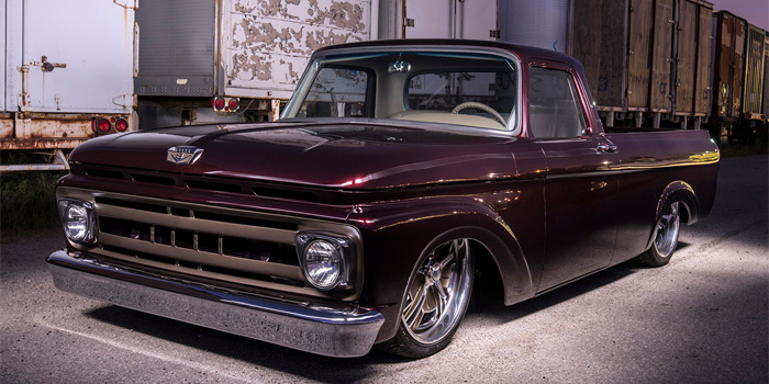 2016 Goodguys Truck of the Year-Late: 1961 Ford F-100 Pickup.