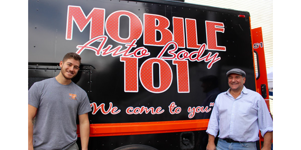 Coming to a driveway near you mobile auto body 101