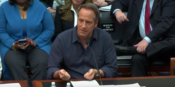 Mike Rowe on Capitol Hill