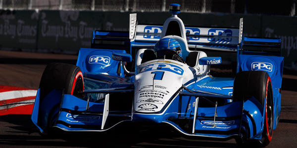 PPG continues as a key sponsor of Team Penske's Verizon IndyCar