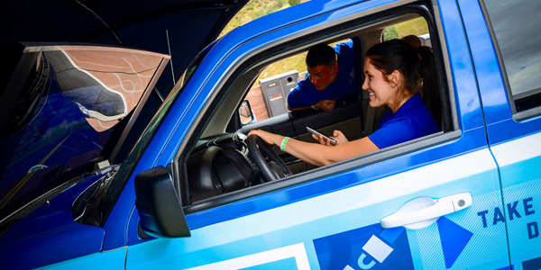 Allstate Reality Rides simulator