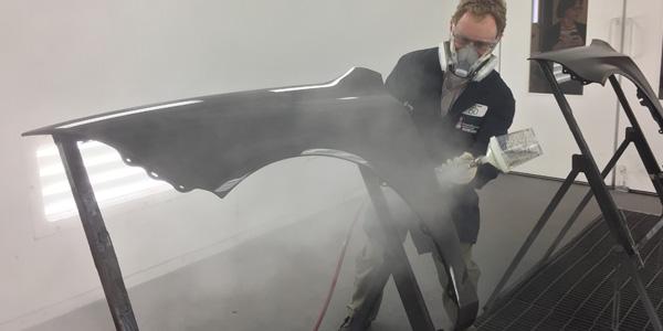 Bodyshop business visits sherwin williams automotive finishes campus