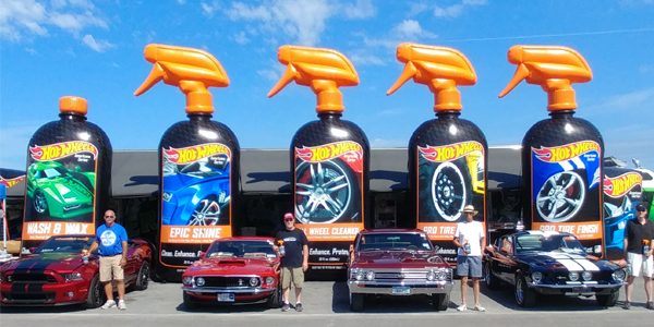 Hot Wheels Car Care Products To Be Presenting Sponsor Of PPG - Show car products