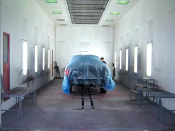Heavy duty collision repair body shop business