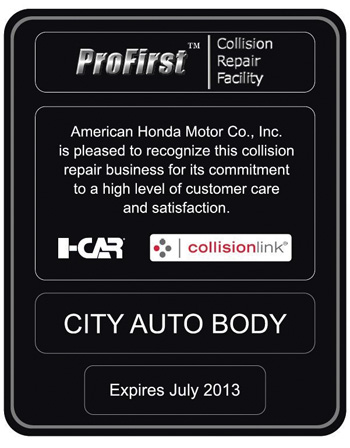 A plaque or certificate typically comes with certification, which body shops can proudly display in their reception areas.