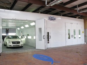 Purchasing a Spraybooth - Body Shop Business