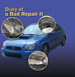 Diary of a bad collision repair part ii body shop business