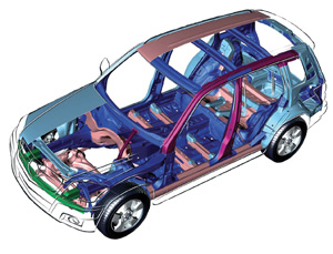 the eme theory states that every collision-damaged vehicle must be measured, and that most measured vehicles will need to be structurally realigned.