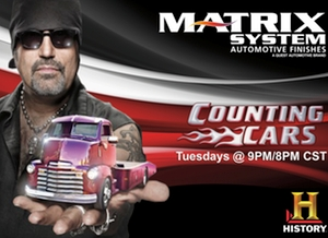 Matrix System Continues Partnership With Counting Cars And - Car restoration shows