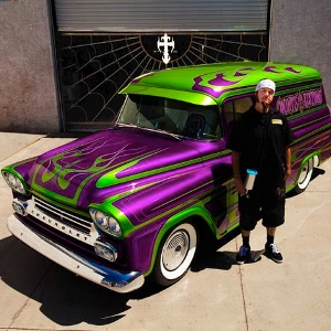Matrix automotive finishes to host ryan evans of 39 counting for Auto paint shop las vegas