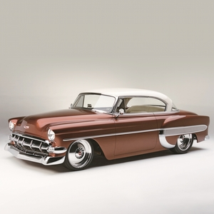 "1954 Chevy ""Cool-Air"" Bel-Air, designed by Chip Foose for Wes Rydell, will be featured in the BASF booth."