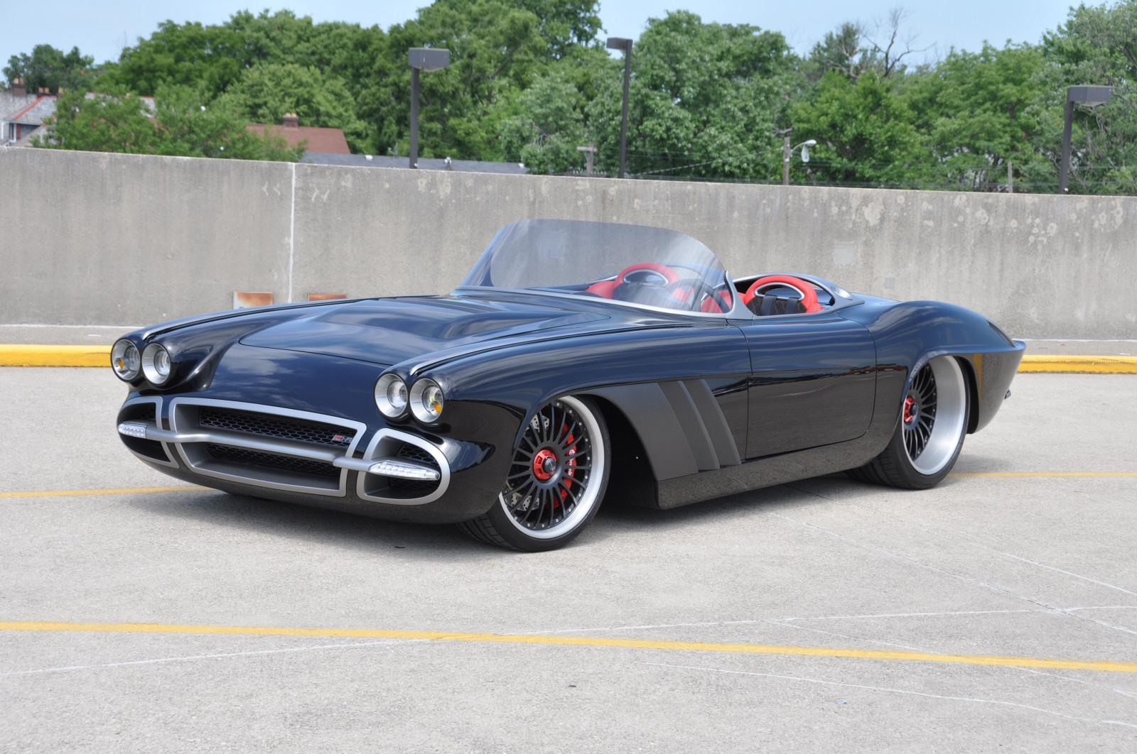 PPG-Painted Corvette Wins 'Street Machine of the Year' at