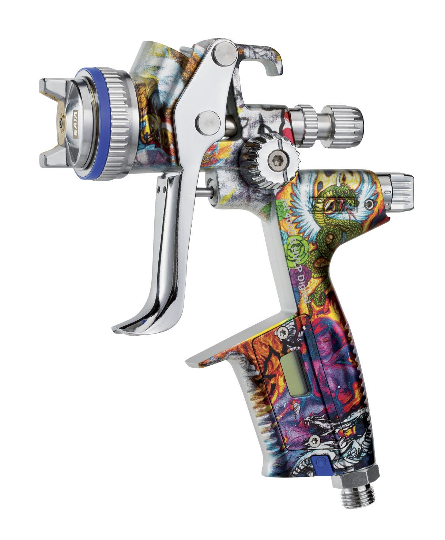 Abra Body Shop >> 'SATAjet 4000 B Heart & Soul' Special Edition Spray Gun ...