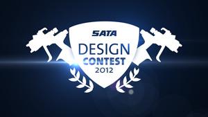 enter the sata spray gun design contest body shop business. Black Bedroom Furniture Sets. Home Design Ideas