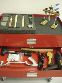 Aluminum tool kit body shop business